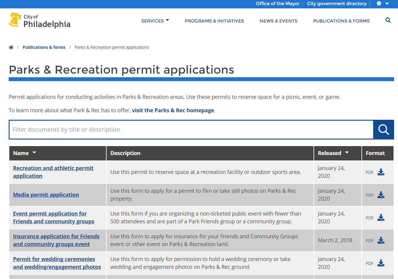ppr-permit-applications